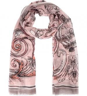 Розовый трикотажный палантин FRAAS. Цвет: розовый