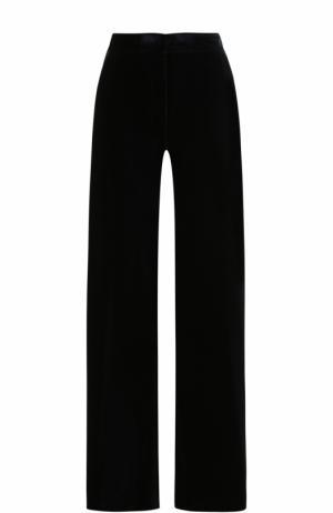 Однотонные хлопковые брюки Dries Van Noten. Цвет: темно-синий