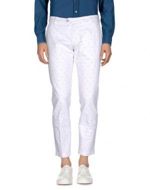 Повседневные брюки MICHAEL COAL. Цвет: белый