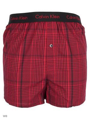 Трусы Calvin Klein. Цвет: красный