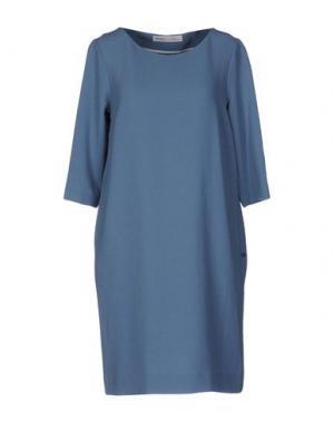 Короткое платье OTTOD'AME. Цвет: пастельно-синий