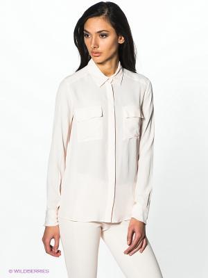 Блузка PINKO. Цвет: персиковый
