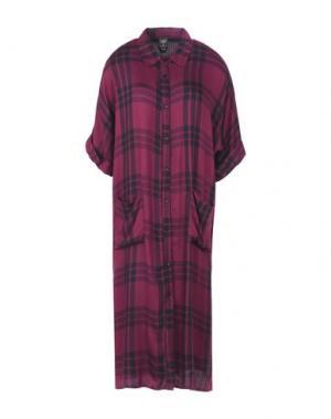 Платье длиной 3/4 GUTTHA. Цвет: розовато-лиловый