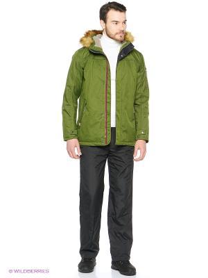 Куртка CMP. Цвет: темно-зеленый