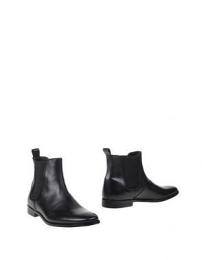 Полусапоги и высокие ботинки ALESSANDRO DELL'ACQUA. Цвет: черный