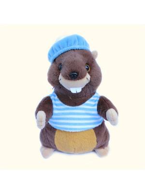 Мягкая игрушка Бобр 20.10.1 цвет коричневый Malvina. Цвет: коричневый