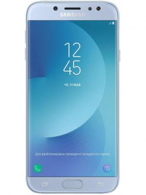 Смартфон Galaxy J7 (2017) 16 Гб голубой Samsung. Цвет: голубой