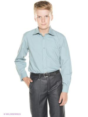 Рубашка Cascatto. Цвет: зеленый
