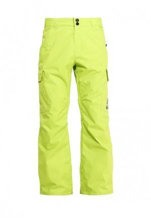 Брюки горнолыжные DC Shoes. Цвет: зеленый