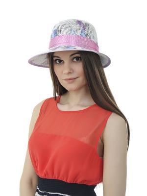 Шляпа Gusachi. Цвет: белый, голубой, сиреневый, розовый