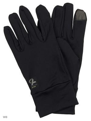 Перчатки Reserved. Цвет: черный