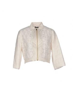 Куртка HANITA. Цвет: белый