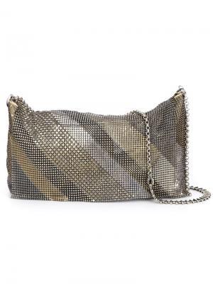 Сэтчелы и сумки через плечо Laura B. Цвет: металлический