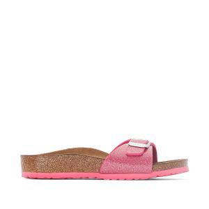 Туфли без задника с радужным отливом Madrid BIRKENSTOCK. Цвет: розовый