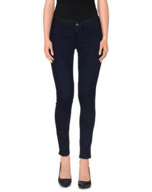 Повседневные брюки H²O LUXURY. Цвет: темно-синий