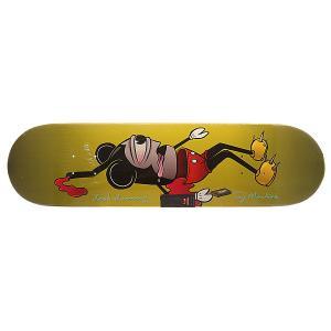 Дека для скейтборда  Harmony Dead Mouse Multi 31.5 x 8.125 (20.6 см) Toy Machine. Цвет: мультиколор
