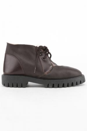 Ботинки Bouton. Цвет: коричневый