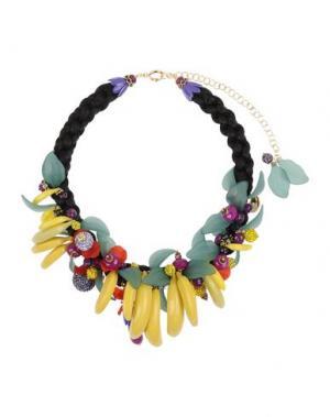 Ожерелье LA HORMIGA. Цвет: желтый