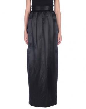 Длинная юбка RAOUL. Цвет: черный