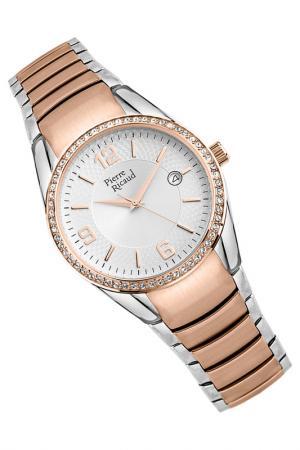Наручные часы PIERRE RICAUD. Цвет: розовый, стальной