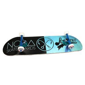 Скейтборд в сборе  x Mono Black/Light Blue 32.5 8.25 (20.9 см) Nord. Цвет: голубой,черный
