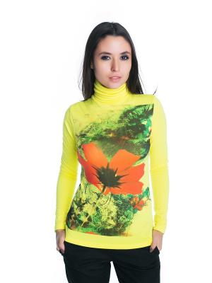 Водолазка VIVO. Цвет: салатовый, желтый, оранжевый