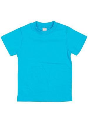 Футболка  детская Bonito kids. Цвет: голубой