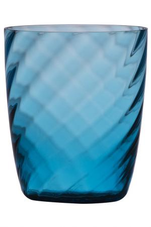 Бокал для сока и воды Zafferano. Цвет: голубой