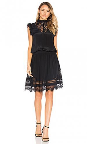 Платье niel RAVN. Цвет: черный