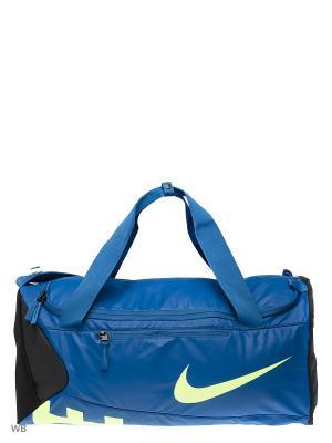 Сумка ALPH ADPT CRSSBDY DFFL-M Nike. Цвет: синий, зеленый, черный
