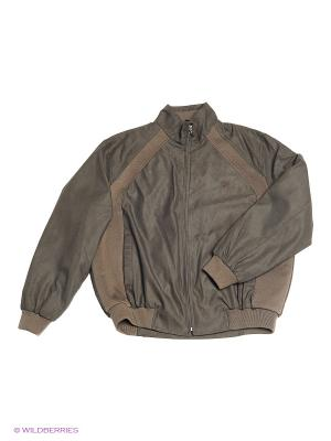 Куртка IFC. Цвет: коричневый