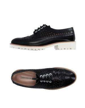 Обувь на шнурках CHIARINI BOLOGNA. Цвет: черный
