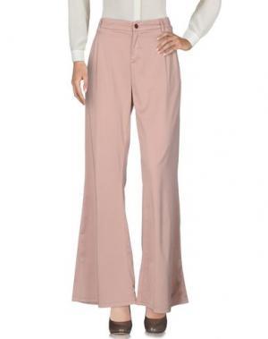 Повседневные брюки FOUDESIR. Цвет: светло-розовый