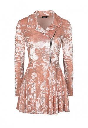 Платье iSwag. Цвет: розовый