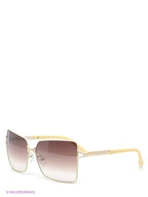 Солнцезащитные очки Selena. Цвет: молочный