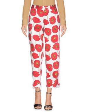 Повседневные брюки MÊME by GIAB'S. Цвет: белый