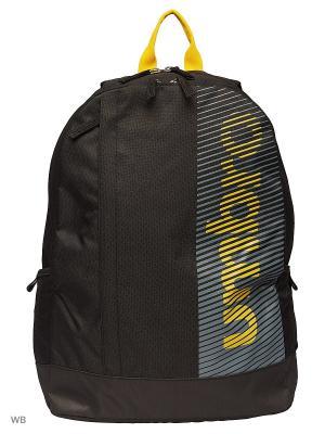 Рюкзак Umbro. Цвет: желтый, серый, черный