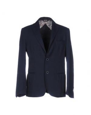 Пиджак VNECK. Цвет: темно-синий