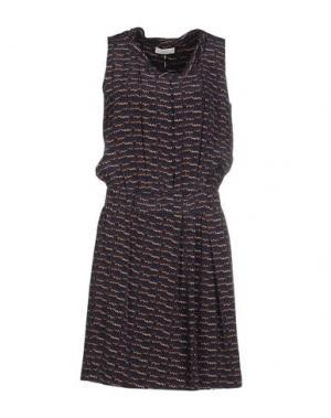 Короткое платье E_GO' SONIA DE NISCO. Цвет: темно-синий