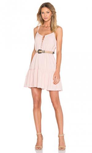 Платье finella BB Dakota. Цвет: румянец