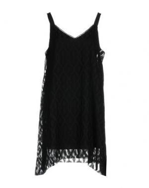 Короткое платье CHARLI. Цвет: черный