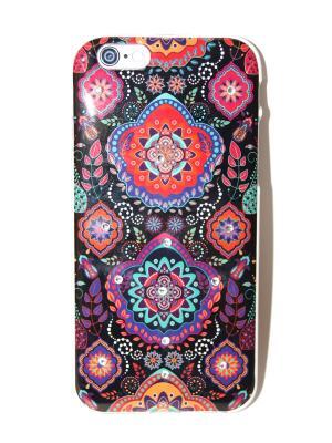 Чехол для iPhone 6/6s Lola. Цвет: черный, голубой, красный