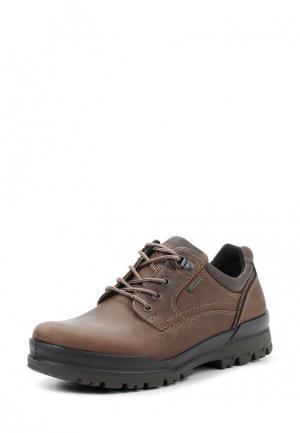 Ботинки TRACK 6 Ecco. Цвет: коричневый