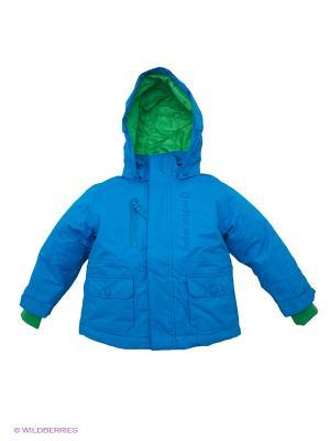 Куртка U you-kids. Цвет: зеленый, лазурный