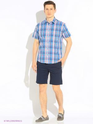Рубашка Hazard. Цвет: голубой