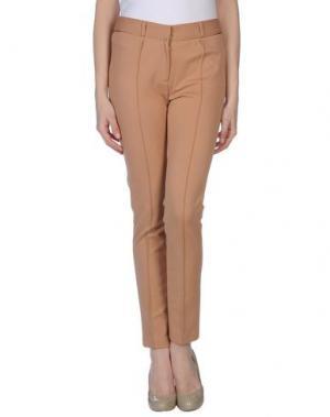 Повседневные брюки INTROPIA. Цвет: верблюжий