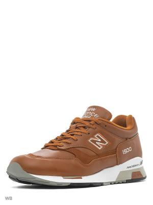 Кроссовки New Balance 1500. Цвет: светло-коричневый