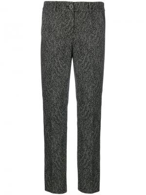 Классические брюки Luisa Cerano. Цвет: чёрный