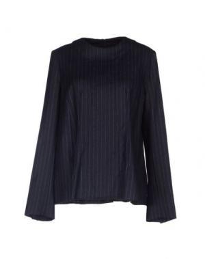 Блузка TER ET BANTINE. Цвет: темно-синий