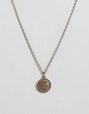 Icon Brand Ожерелье с подвеской. Цвет: золотой